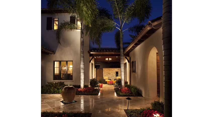 14042 Lot 42 Front Courtyard Night1 30040