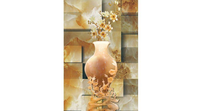 Фотообои 3D Объемная китайская ваза