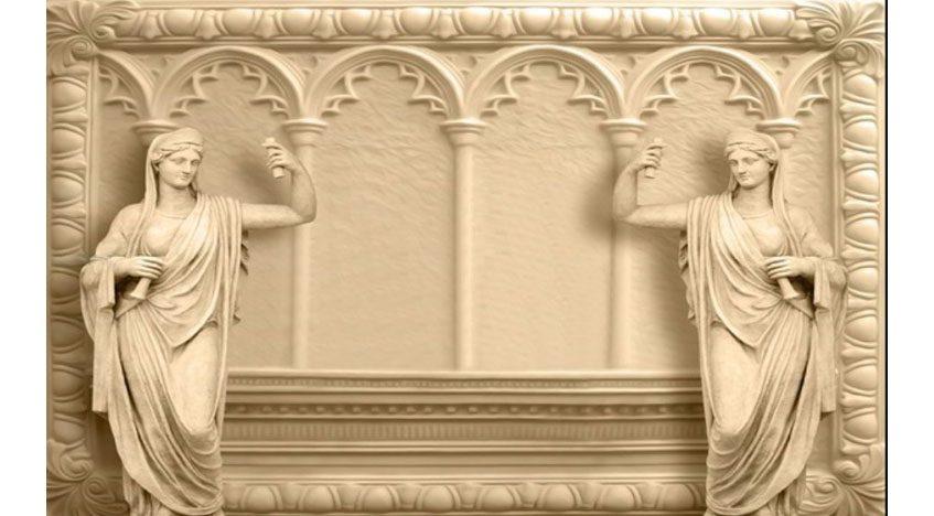 Фотообои 3D Скульптуры