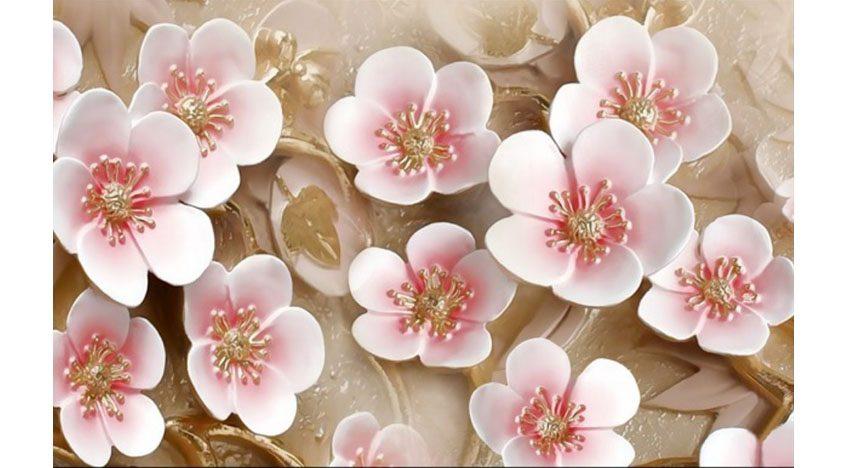 Фотообои 3D Россыпь цветов