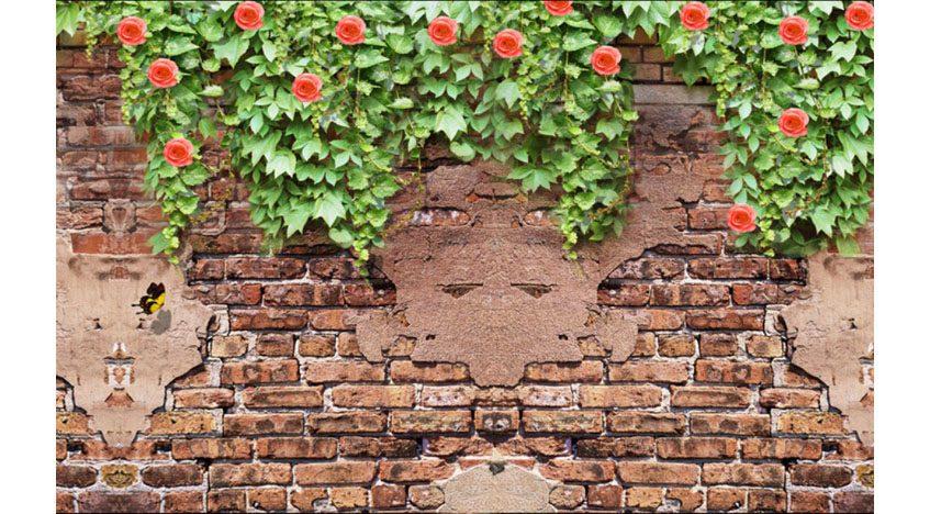 Фотообои 3D Кирпичная стена