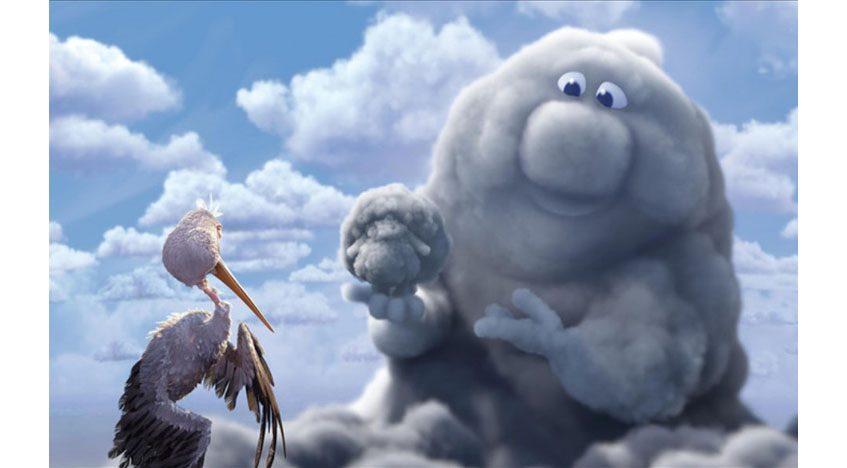 Фотообои 3D Мультфильм Переменная облачность