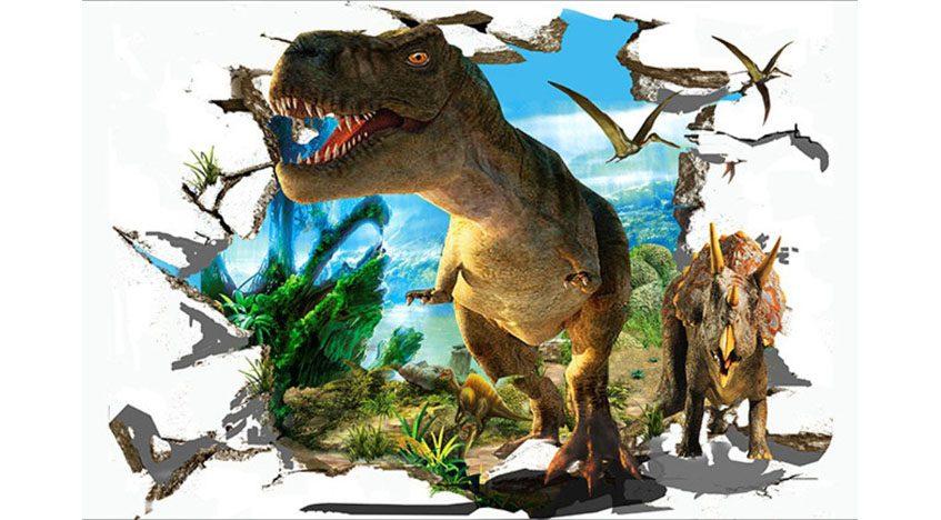 Фотообои 3D Парк Юрского периода