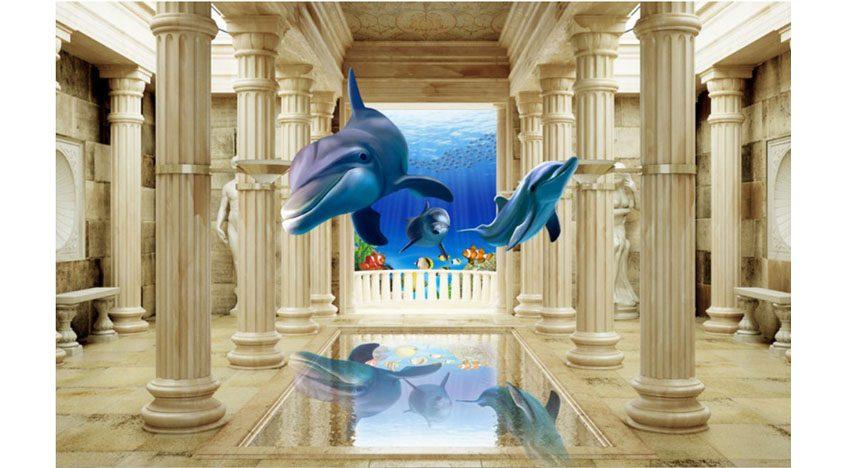 Фотообои 3D Морской Мир