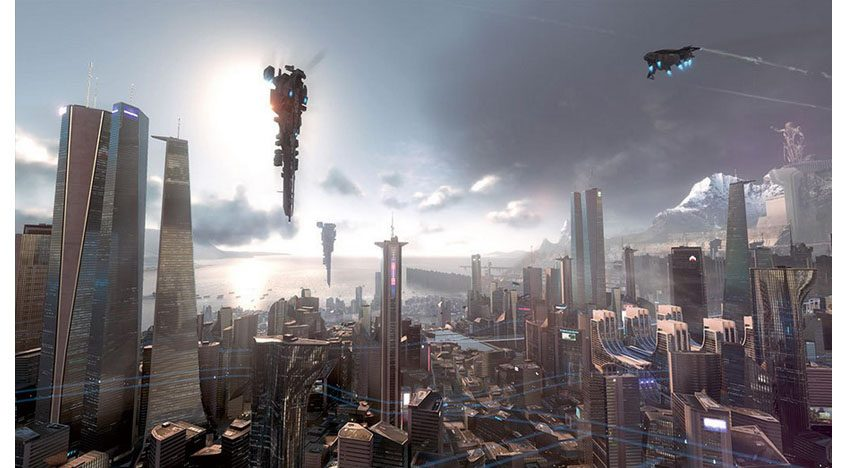 Фотообои 3D иллюстрация игры Килзон