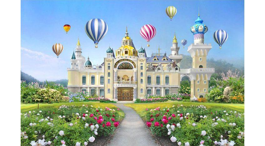 Фотообои 3D Сказочный замок