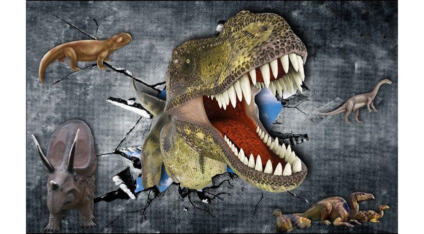 Фотообои 3D Динозавры