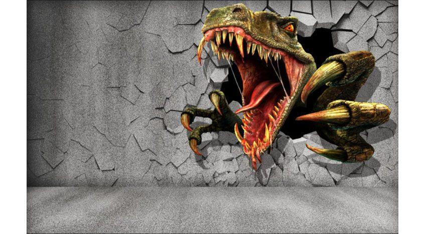 Фотообои 3D Динозавр