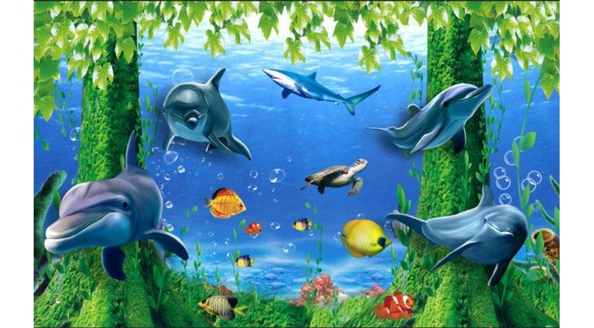 Фотообои 3D Морские глубины