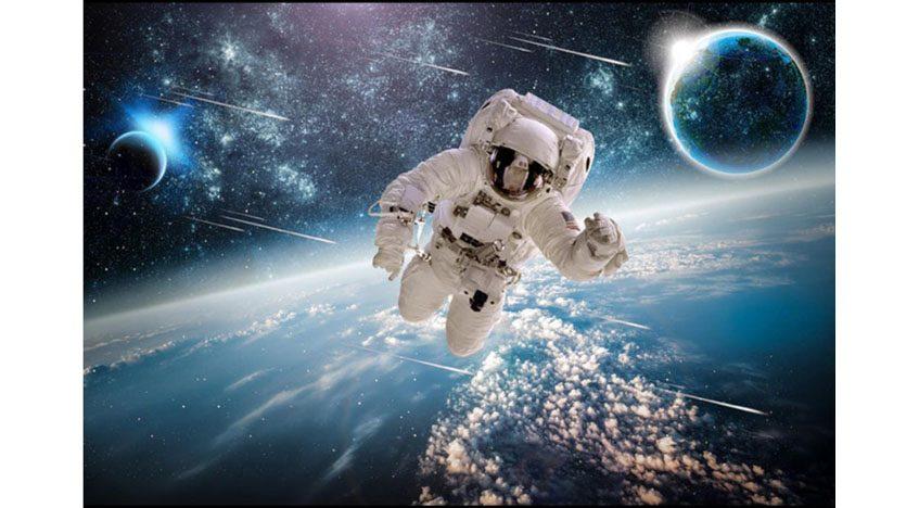 Фотообои 3D Космонавт в космосе
