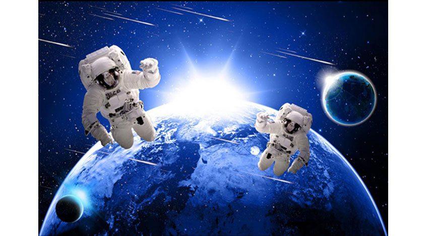 Фотообои 3D Два космонавта