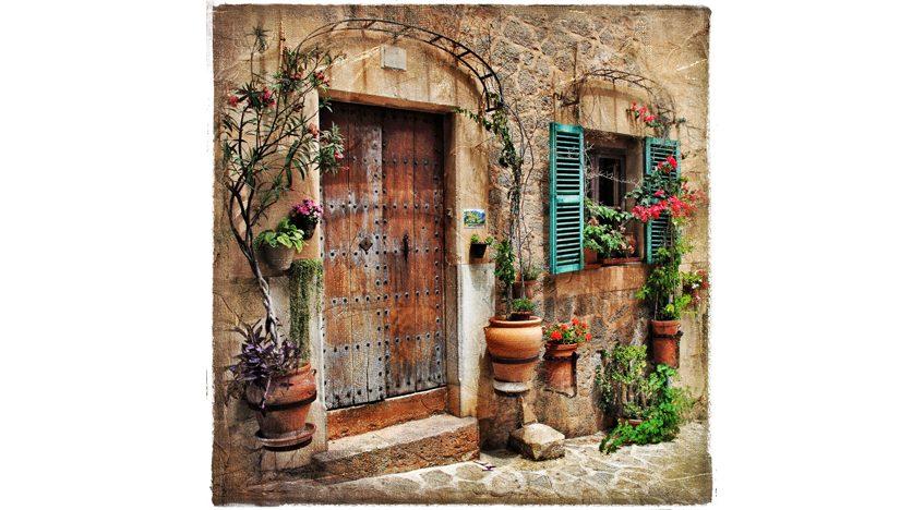 Фотообои Винтажная дверь