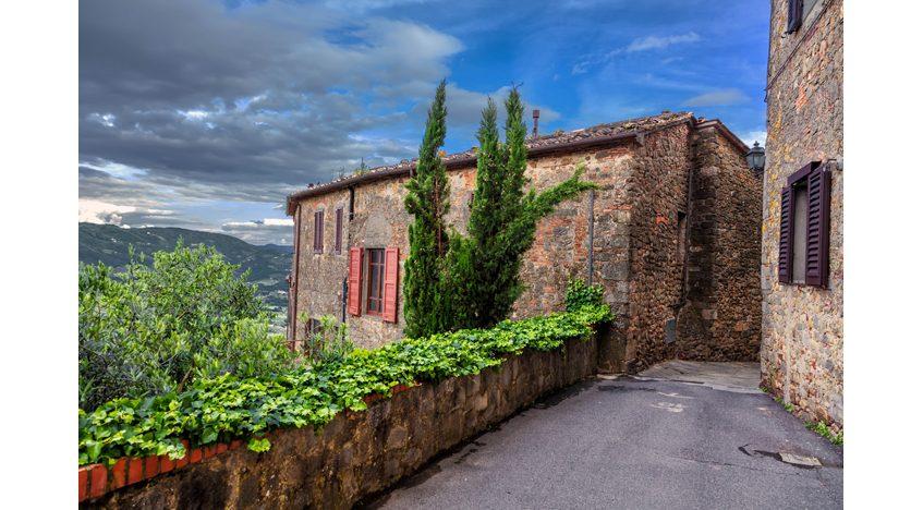 Фотообои Средневековая архитектура Италии