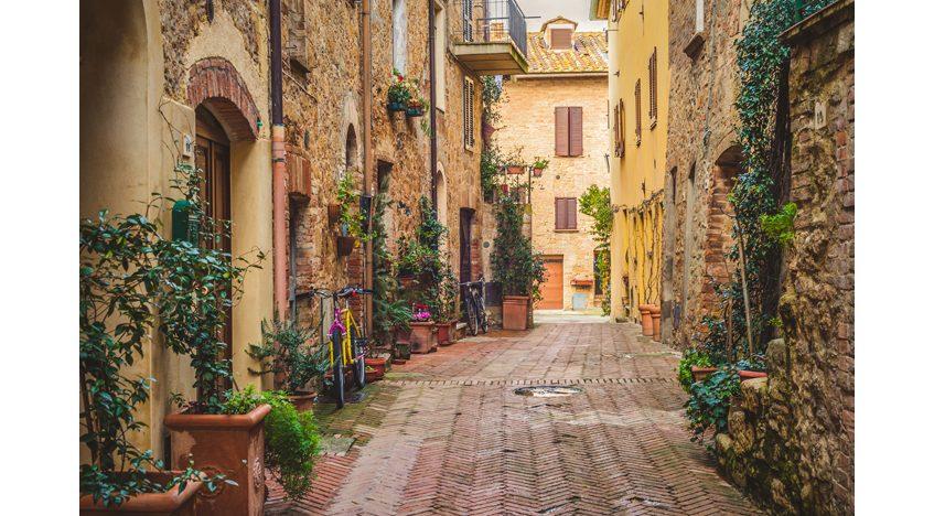 Фотообои Старый город Пьенца, Тоскана