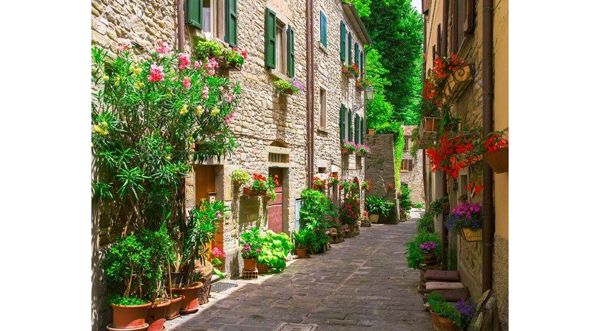 Фотообои Итальянская улица