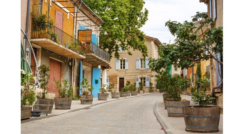 Фотообои Улочка в Провансе, Франция