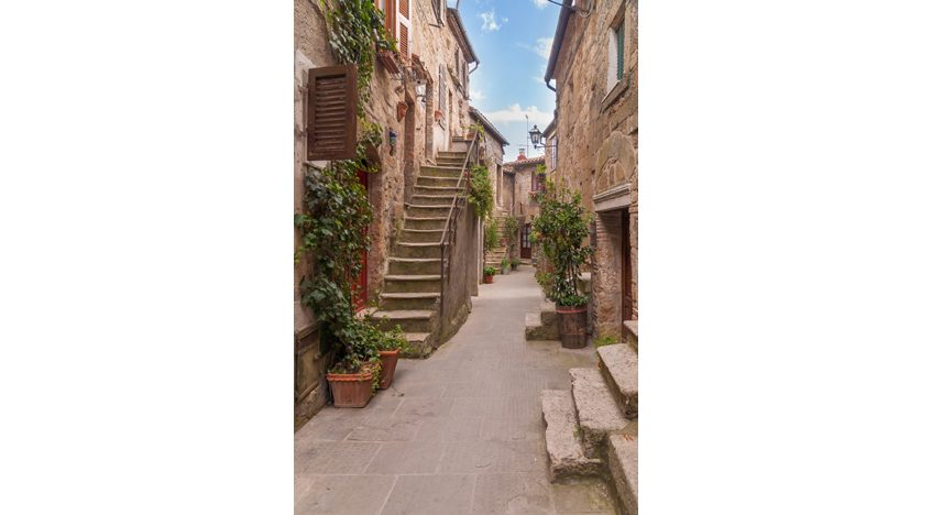 Фотообои Улочка старого города