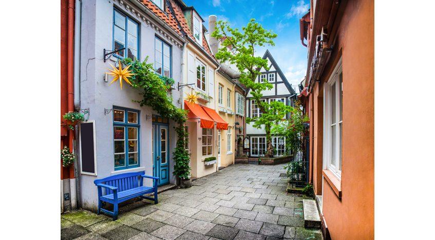 Фотообои Красочные дома в Бремене