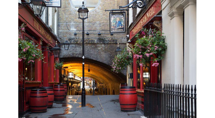 Фотообои Улочка в Лондоне