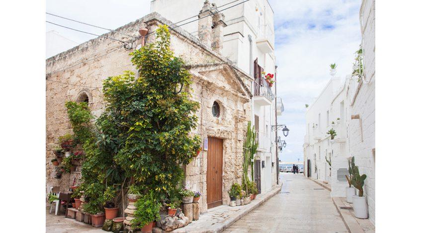 Фотообои Улица c красивой архитектурой, Италия