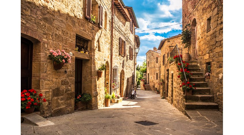 Фотообои Деревня Тоскана, Италия