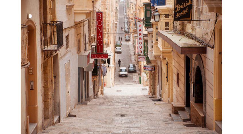 Фотообои Старая улочка Мальты