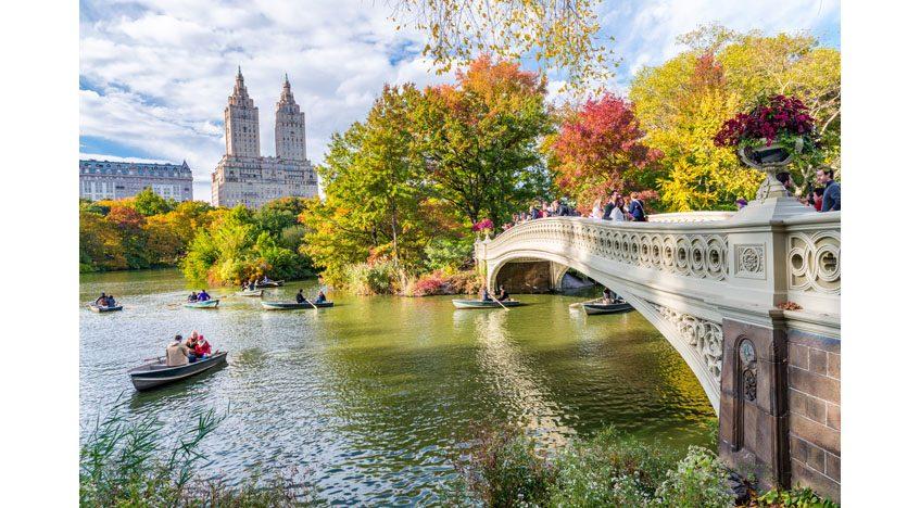 Фотообои Нью-Йорк в октябре