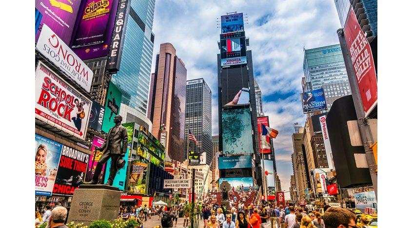 Фотообои Таймс-сквер, Нью-Йорк