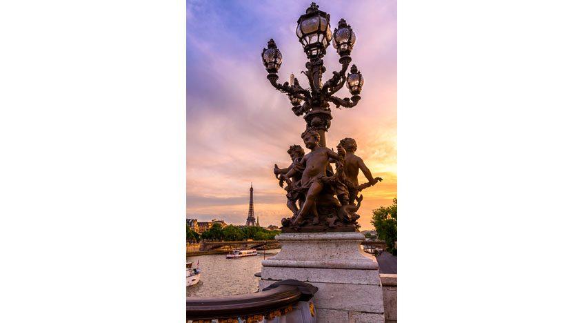 Фотообои Мост через Сену в Париже